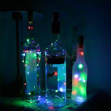 3x cork shaped led light starry lights wine bottle l for