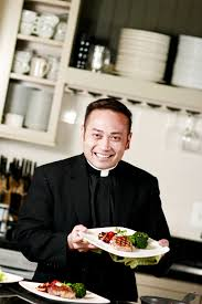 cuisine priest the cooking priest to headline bishop s dinner in sioux city food