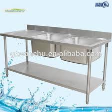 wanchu freestanding commercial kitchen sink 304 sri lanka double
