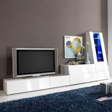 Wohnzimmer Beleuchtung Kaufen Tv Wohnwand In Weiß Hochglanz Rgb Beleuchtung 3 Teilig Jetzt
