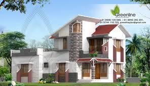 home designed modern house elevation sq feet kerala home design a