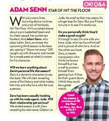 Hit The Floor Names - adam senn is featured in ok magazine adamsenn okmagazine