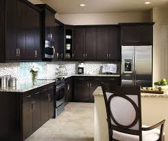 Contemporary Kitchen Cabinets Dark Cherry Kitchen Cabinets Aristokraft Cabinetry