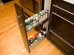 Kitchen Cabinet Spice Rack Slide by Pull Out Spice Rack Kitchen Storage Spice Rack Kitchen Storage