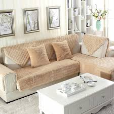 dolce leche fluffy sofa protector 3 sizes qbedding