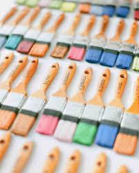 a colorful art themed wisconsin wedding martha stewart weddings