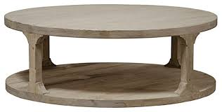 Traditional Coffee Table Reclaimed Lumber Gimso Round Coffee Table Traditional Coffee
