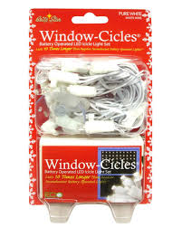 battery operated icicle christmas lights set of 24 pure white led battery operated mini window icicle