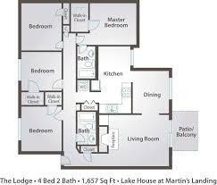4 bedroom cabin plans attractive 4 bedroom cabin floor plans inspirations and small one