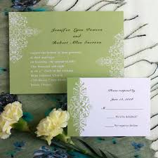 green wedding invitations mint green damask wedding invitation cards ewi050 as low