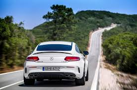 mercedes coupe c class mercedes c class coupe hits the meet 2016 s amg c63 by