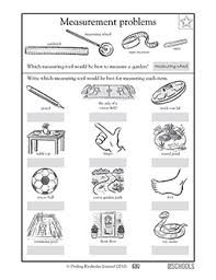 2nd grade math worksheets measurement tools greatschools