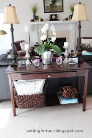 Decorating A Sofa Table Sofa Sofa Decorate Entry Table Entryway Furniture Ideas For