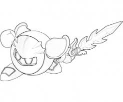meta knight coloring pages category coloring home
