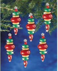 the beadery baubles beaded ornament kit
