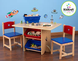 Play Table With Storage by Ergonomic Desk Chair Blue New Kids Furniture Homework Of