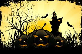 halloween scariest stories holiday halloween funny pumpkin tree moon castle mouse smile