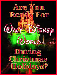 1st trip disney world should you travel during christmas