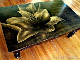 shading with wood stain to make artwork reality daydream
