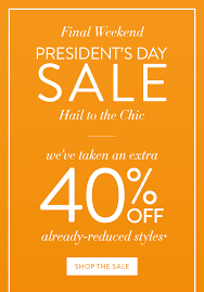 chicos sale chico s our president s day sale is on 40 milled
