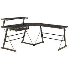 Corner Desk Ebay Broderick L Shaped Corner Desk Black Desks Workstations Inside L