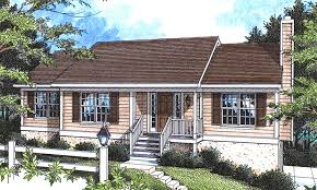 Ranch Floor Plans With Front Porch Floweridge Ranch Home Plan 052d 0001 House Plans And More