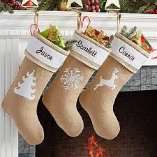burlap christmas personalized burlap christmas rustic chic