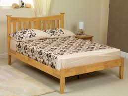 4ft bed sweet dreams kingfisher 4ft small double oak wooden bed frame