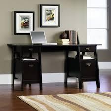 Sauder August Hill Computer Desk Sauder Stockbridge Executive Trestle Desk Jamocha Wood Ebay