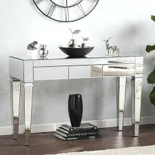 glass table ls amazon mirrored console table blvd contemporary amazon omiio org