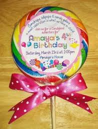 Lollipop Party Favors Candyland Party Ideas Candyland Theme Bday Ideas For Bells