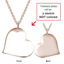 necklace love heart images Sealed with a kiss love heart sterling silver engraved photo necklac png