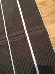 hall of stripes a hallway runner rug diy ikea hackers ikea