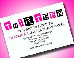 13th birthday invitation templates musicalchairs us