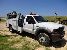 used ford work trucks for sale ford f550 fuel lube mechanics truck used for sale