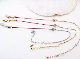 lucky red bracelet images Gold redline rope bracelet stainless steel jewelry brand lucky jpg