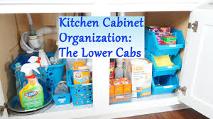 Cabinet Organizers For Kitchen Kitchen Cabinet Organization Ideas The Lower Cabs Youtube