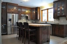 armoire de cuisine rustique bisson et fille armoires de cuisine au québec
