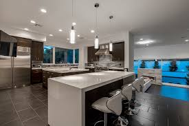 702 Hollywood The Fashionable Kitchen by 2 6m Tournament Hills U0027 Home In Las Vegas Has Contemporary Design