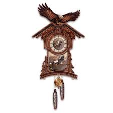 amazon com timeless majesty collectible cuckoo clock with bald