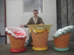 ice cream table and chairs ice cream furniture set jr max003 the jolly roger life size 3d