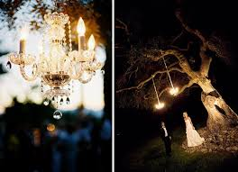 Tree Chandelier Modern Rustic Chandeliers In Trees U0026 Tents U2026 Green Wedding Shoes