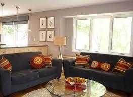 decoration elegant black shade table lamp on black wooden sofa