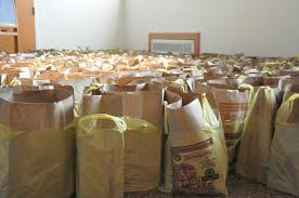 donate food for thanksgiving bcb community bank presents 2 000 donation for our lady of