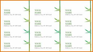 3 address label template word divorce document