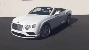 bentley gtc 2016 white bentley gtc youtube