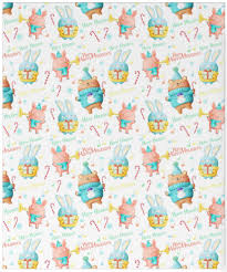turquoise wrapping paper christmas wrapping paper kawaii