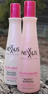Nexxus Color Assure Pre Wash Primer - preserving my hair color with the nexxus color assure system