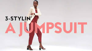 how to style a jumpsuit video instyle com