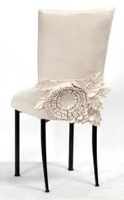 Ruffled Chair Covers We Need To Plan A Party So We Can Get These Ruffle Back Chair